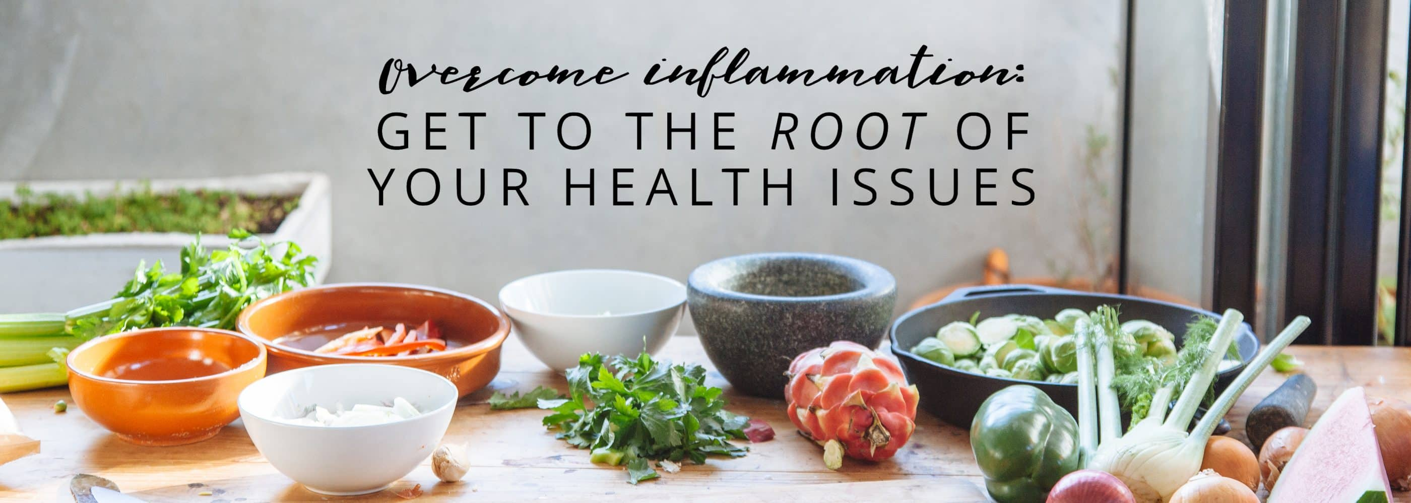 Overcome Inflammation: get to the root of your health issues with MRT testing and the LEAP program