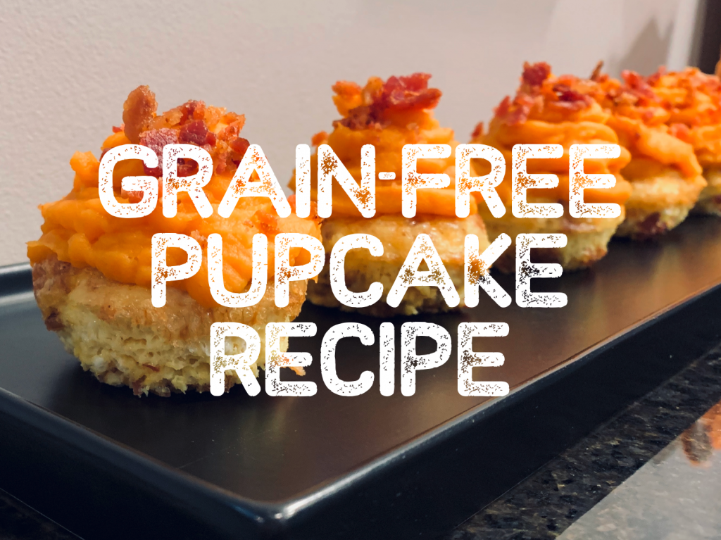 Grain Free Pupcake Recipe
